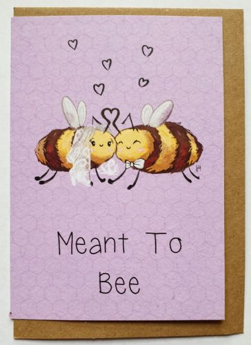 1 Tree Card - Meant to Bee